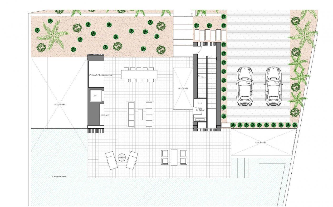 Villa de diseño única y exclusiva  con vistas a guardamar y al mar. - imagenInmueble8