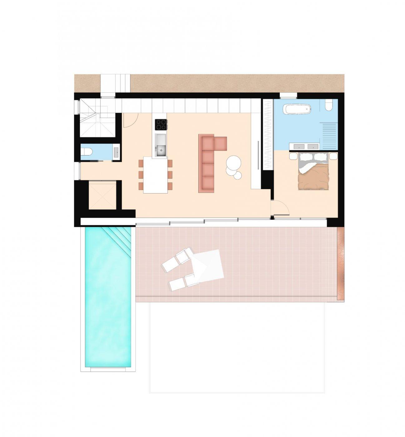 Villa de diseño con una superficie total de 250 metros cuadrados con vistas a guardamar y  - imagenInmueble32