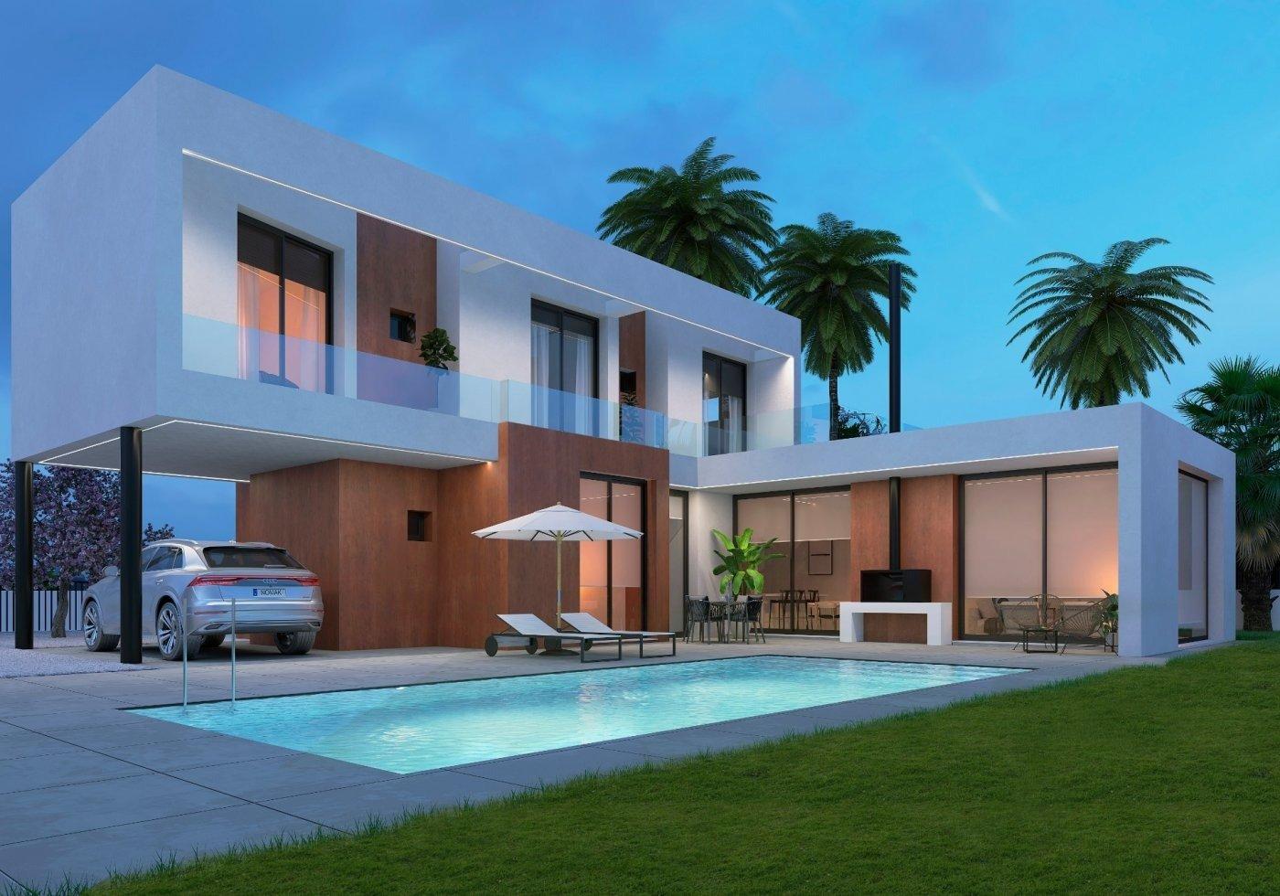 Villa moderna de nueva construcción en calpe a 600 m de la playa - imagenInmueble0