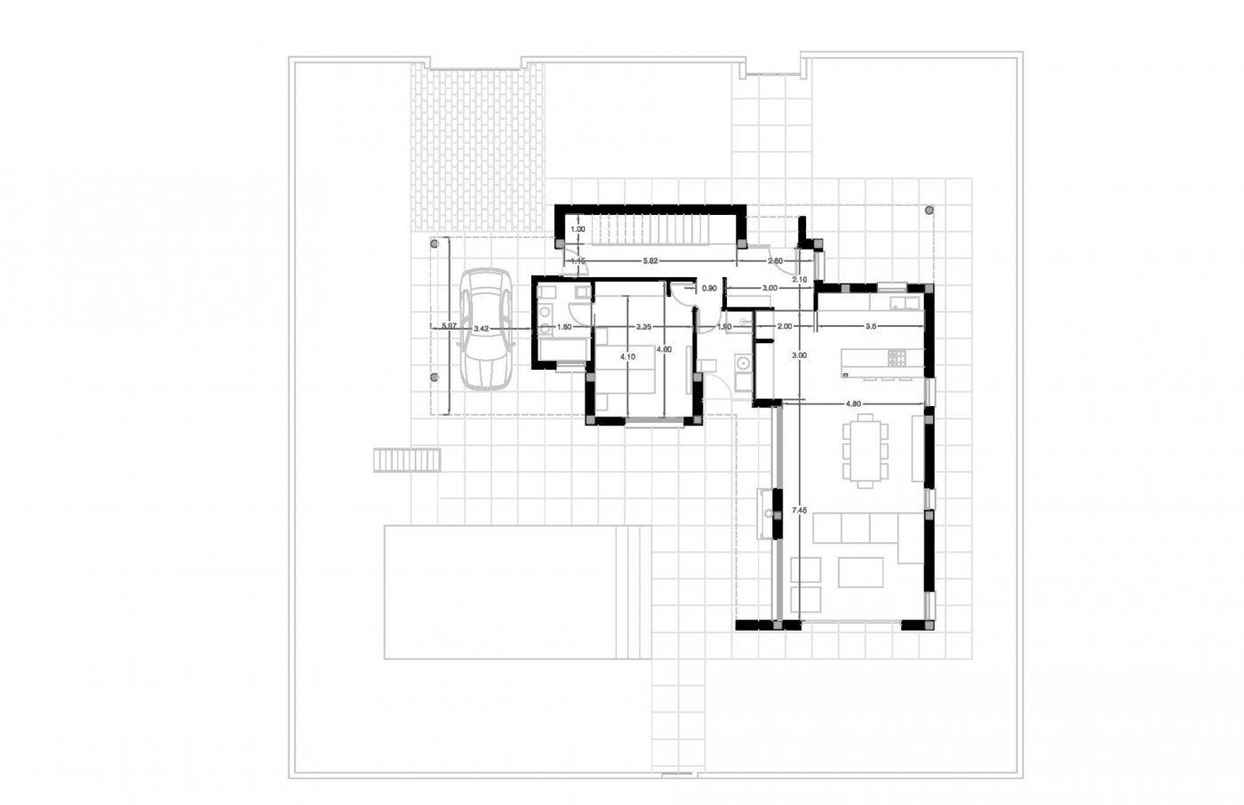 Villa moderna de nueva construcción en calpe a 600 m de la playa - imagenInmueble6