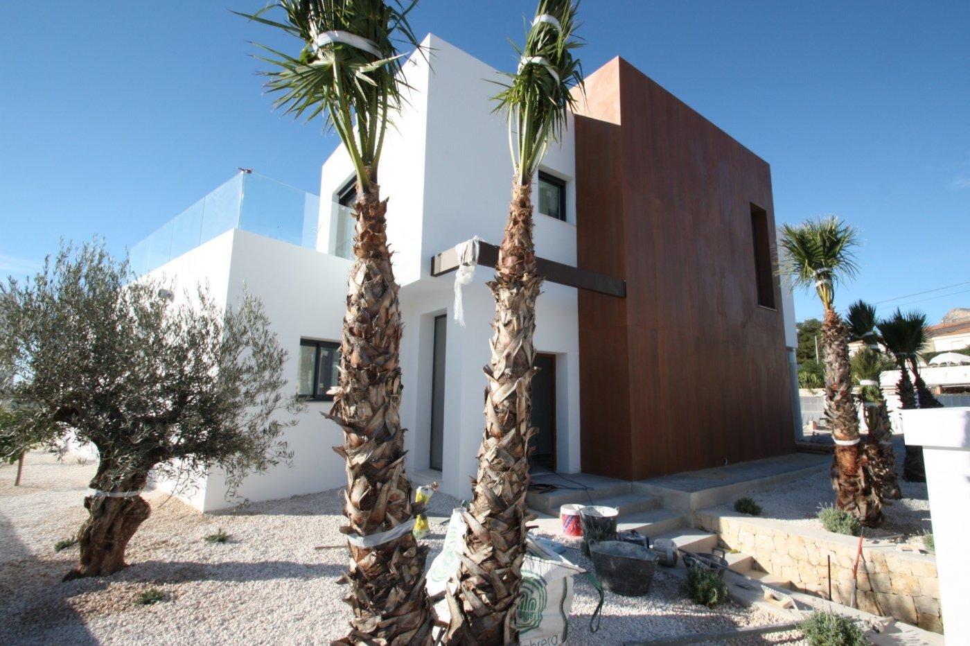 Villa de obra nueva de estilo moderno en venta en calpe a 600 m de la playa - imagenInmueble9