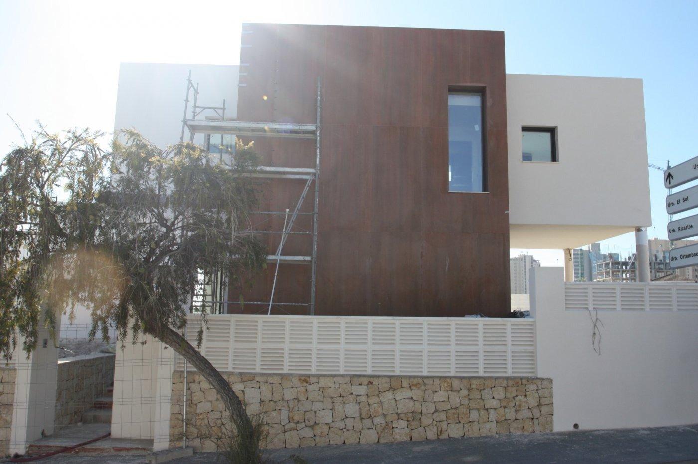 Villa de obra nueva de estilo moderno en venta en calpe a 600 m de la playa - imagenInmueble13