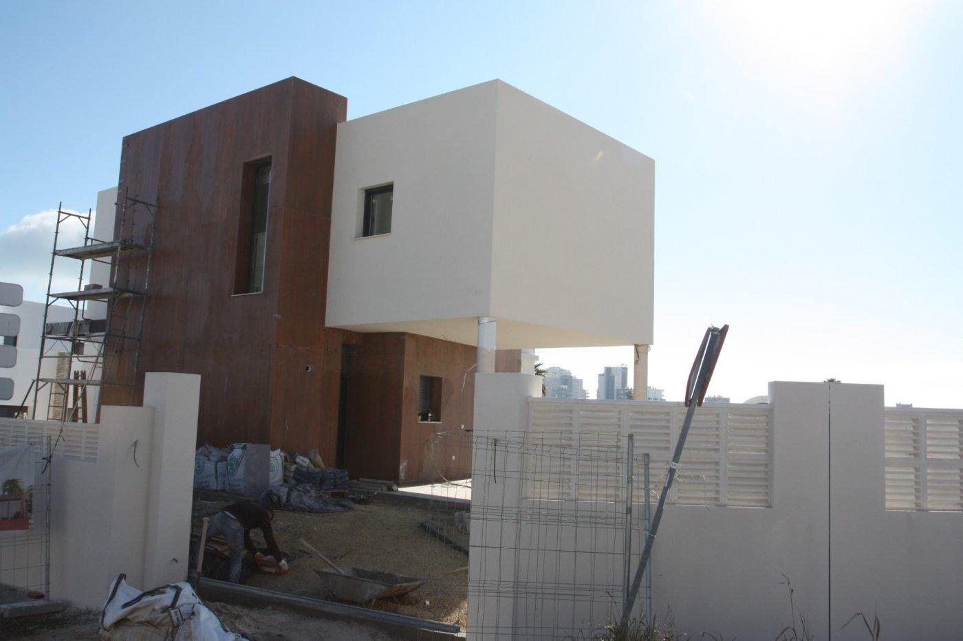 Villa de obra nueva de estilo moderno en venta en calpe a 600 m de la playa - imagenInmueble14