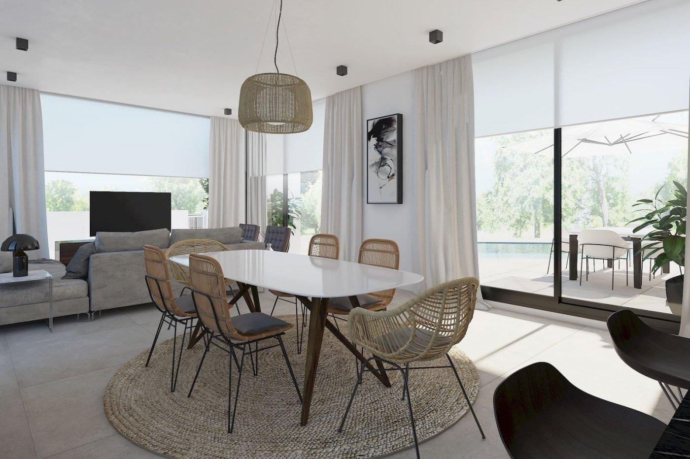 Villa de obra nueva de estilo moderno en venta en calpe a 600 m de la playa - imagenInmueble1
