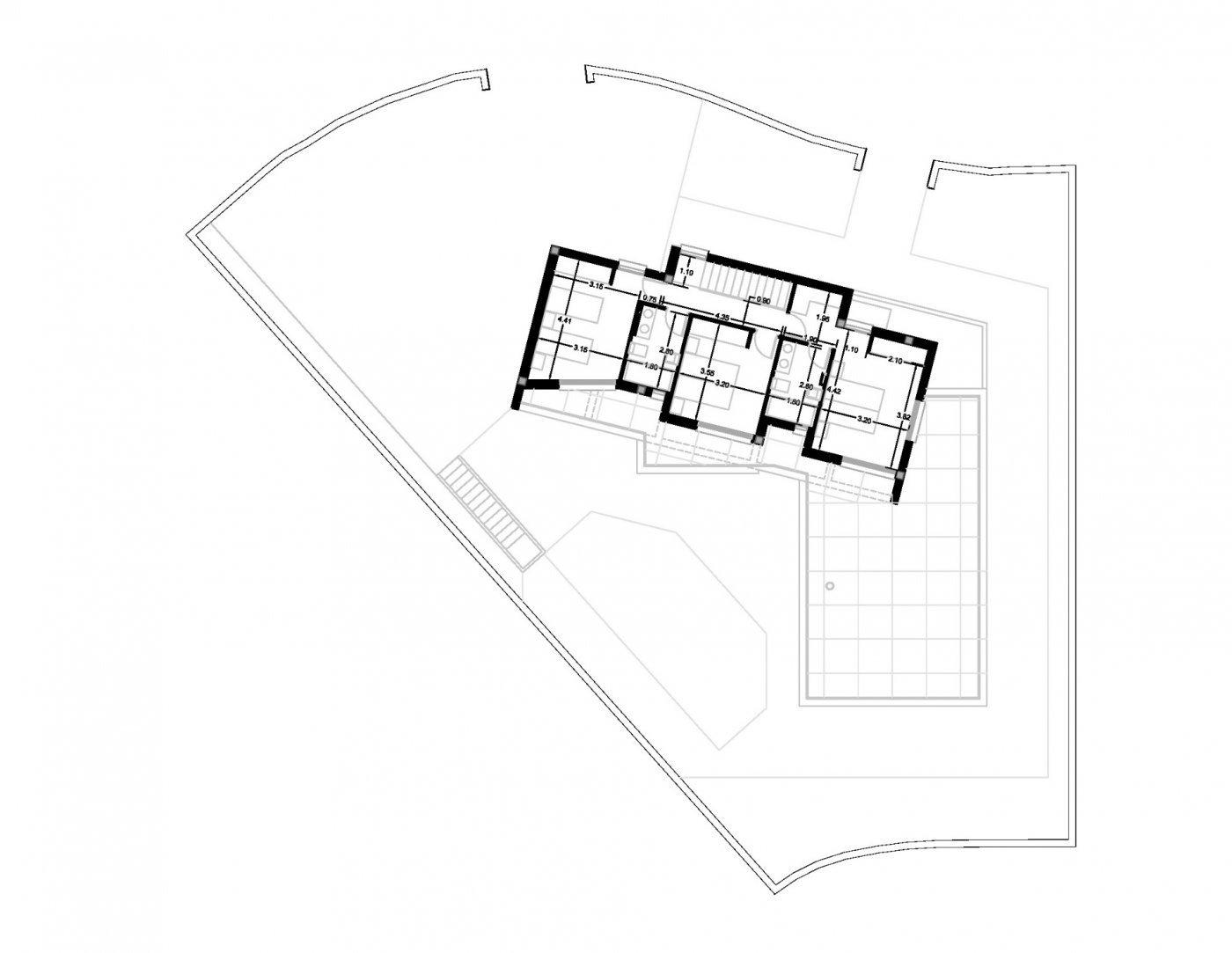 Villa de obra nueva de estilo moderno en venta en calpe a 600 m de la playa - imagenInmueble26