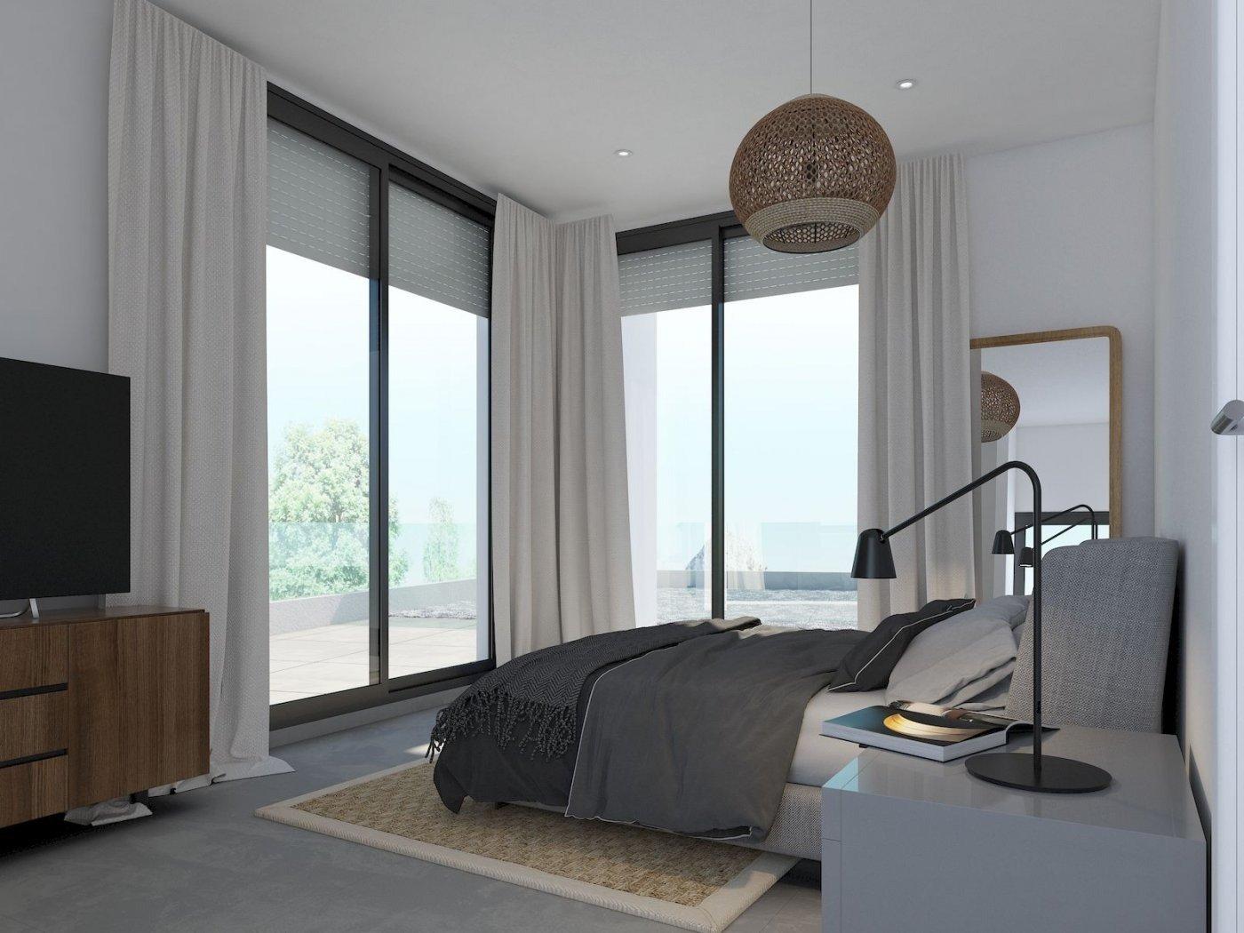Villa de obra nueva de estilo moderno en venta en calpe a 600 m de la playa - imagenInmueble3