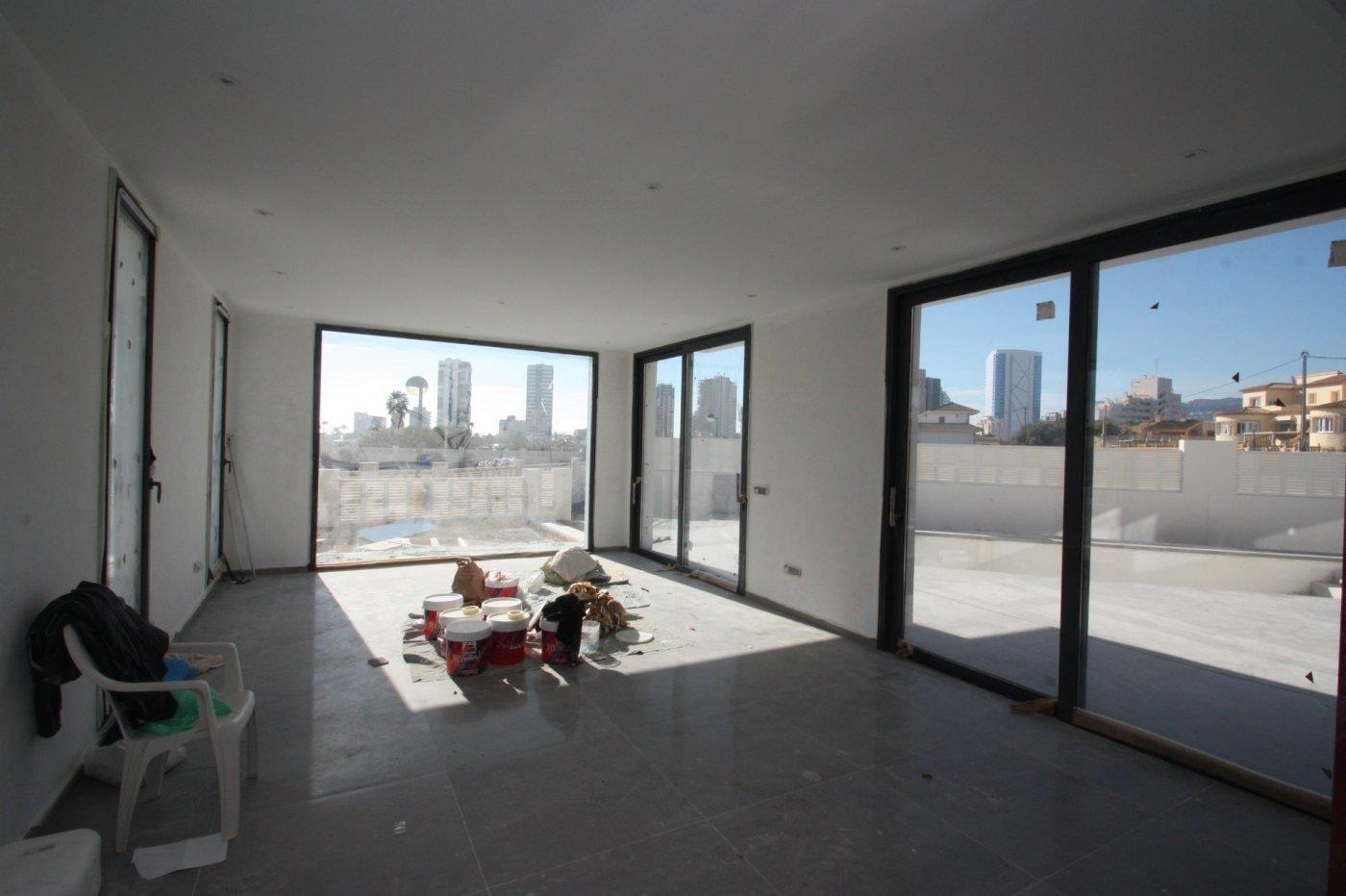 Villa de obra nueva de estilo moderno en venta en calpe a 600 m de la playa - imagenInmueble7