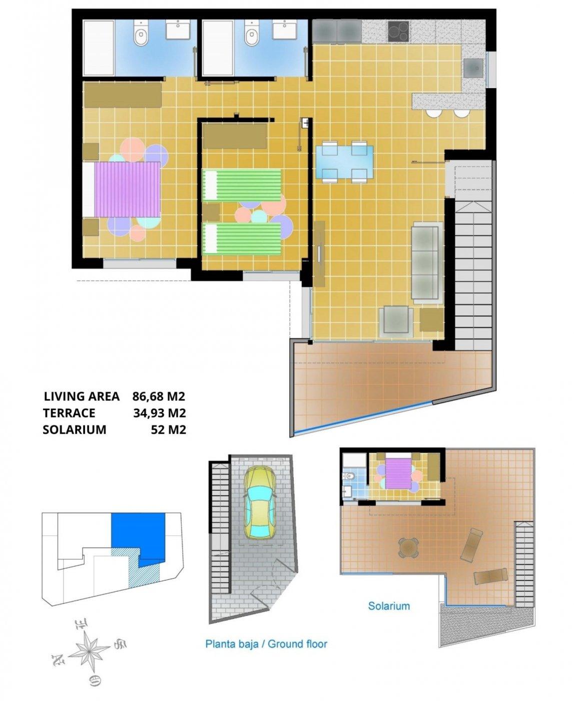 Apartamento en primera planta en pilar de horadada - imagenInmueble29