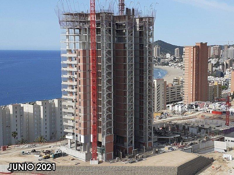 Viviendas de obra nueva con vistas al mar en playa de poniente de benidorm!!! - imagenInmueble22