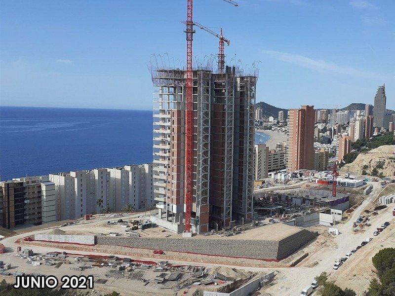 Viviendas de obra nueva con vistas al mar en playa de poniente de benidorm!!! - imagenInmueble24