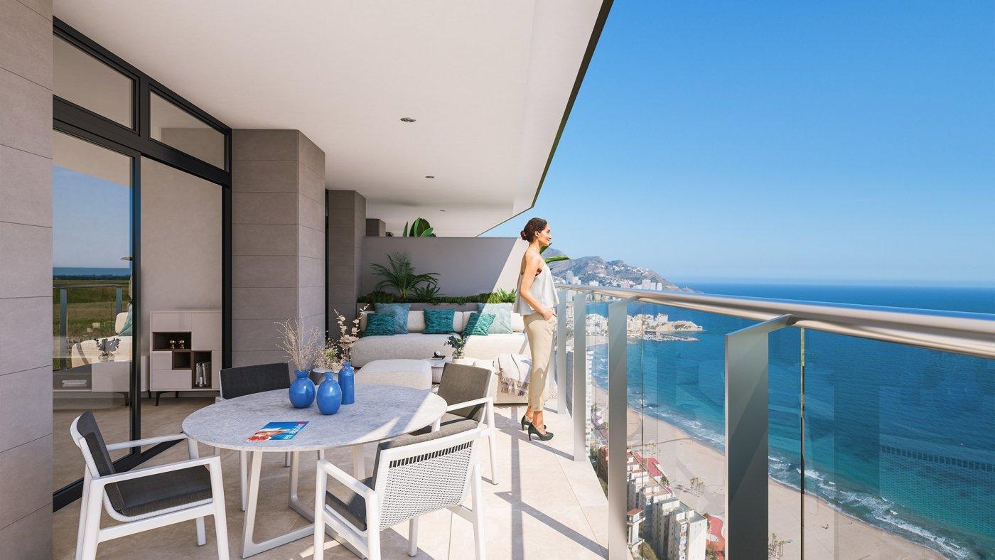 Viviendas de obra nueva con vistas al mar en playa de poniente de benidorm!!! - imagenInmueble3