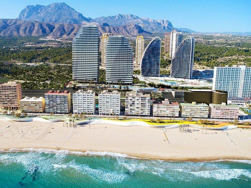Viviendas de obra nueva con vistas al mar en playa de poniente de benidorm!!! - imagenInmueble4