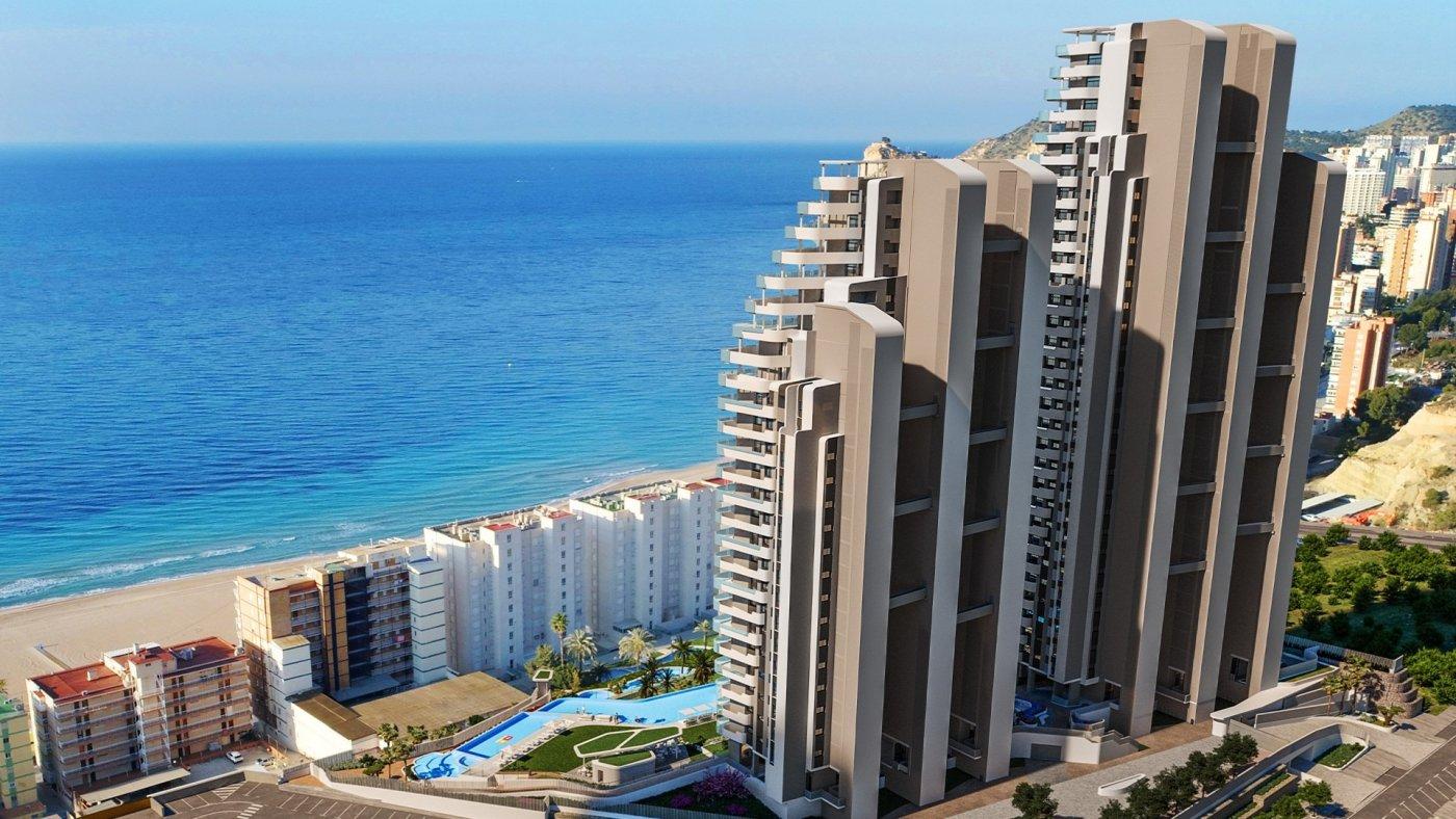Viviendas de obra nueva con vistas al mar en playa de poniente de benidorm!!! - imagenInmueble6