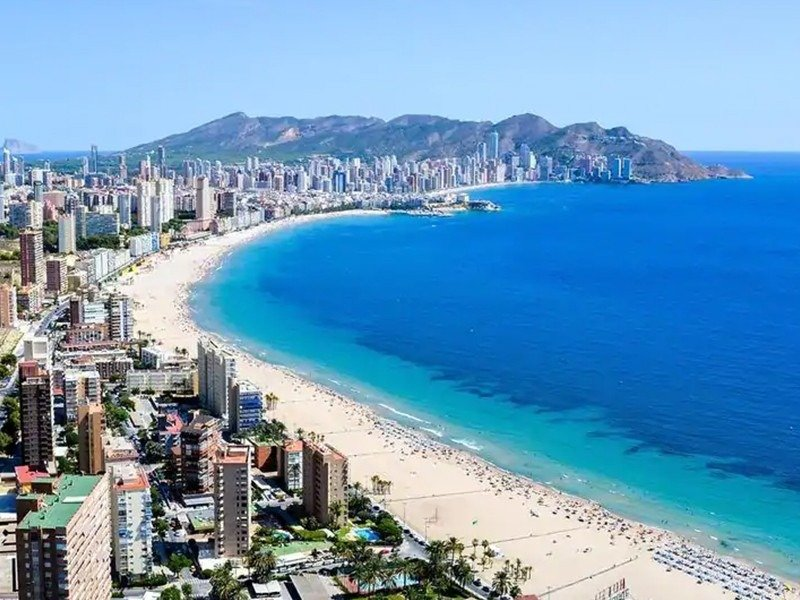 Apartamentos con vistas al mar a 200 metros de playa de poniente de benidorm - imagenInmueble17