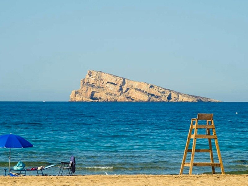 Apartamentos con vistas al mar a 200 metros de playa de poniente de benidorm - imagenInmueble21