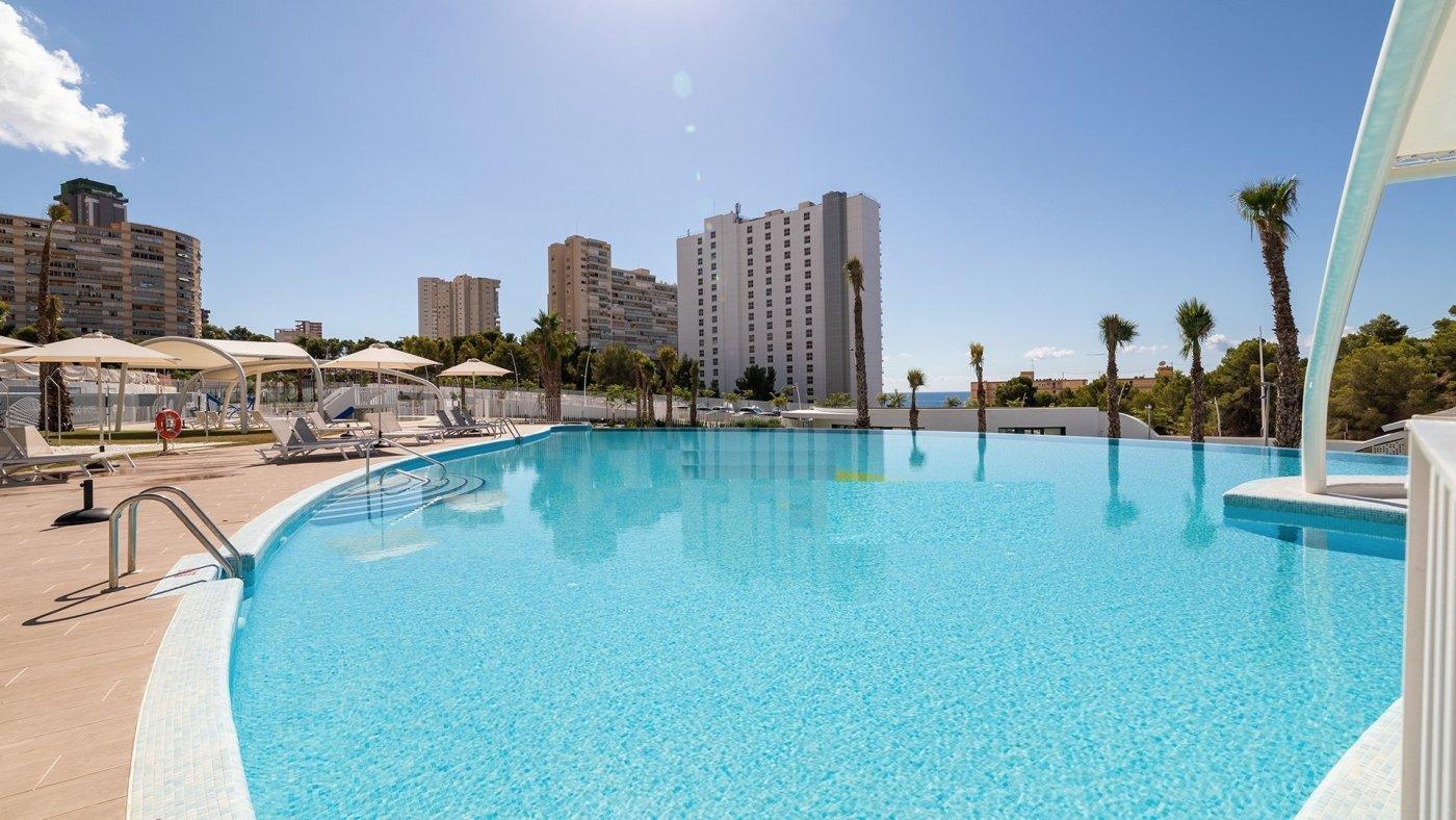 Apartamentos con vistas al mar a 200 metros de playa de poniente de benidorm - imagenInmueble2