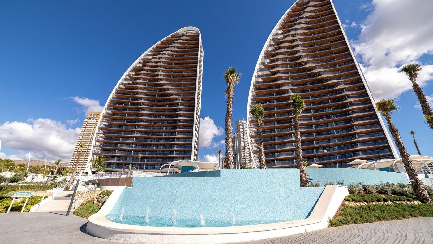 Apartamentos con vistas al mar a 200 metros de playa de poniente de benidorm - imagenInmueble0