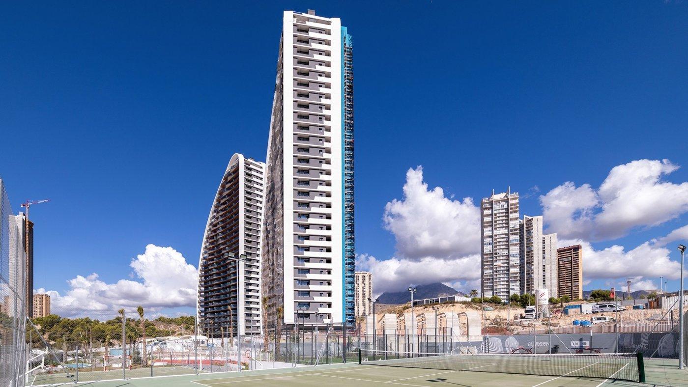 Apartamentos con vistas al mar a 200 metros de playa de poniente de benidorm - imagenInmueble1