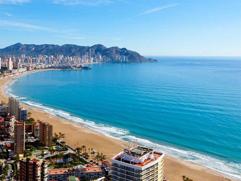 Apartamentos con vistas al mar a 200 metros de playa de poniente de benidorm - imagenInmueble19