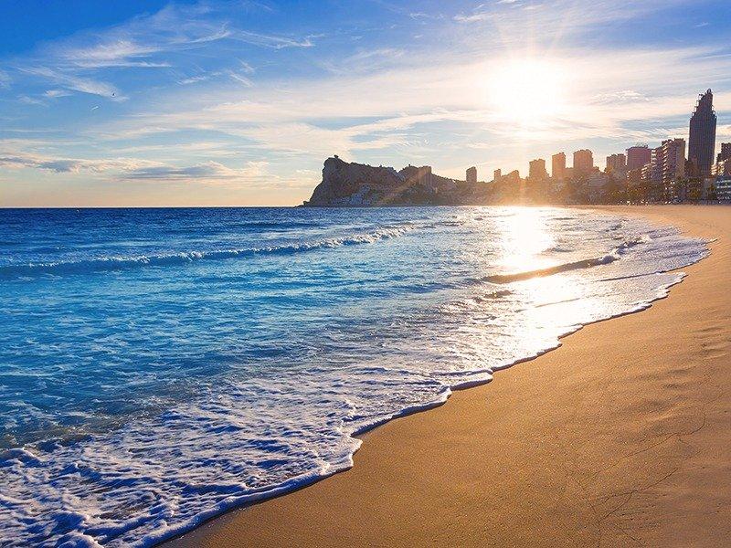 Apartamentos con vistas al mar a 200 metros de playa de poniente de benidorm - imagenInmueble20