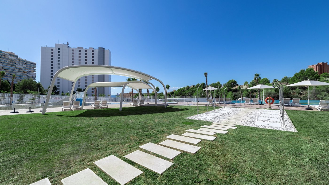 Apartamentos con vistas al mar a 200 metros de playa de poniente de benidorm - imagenInmueble5