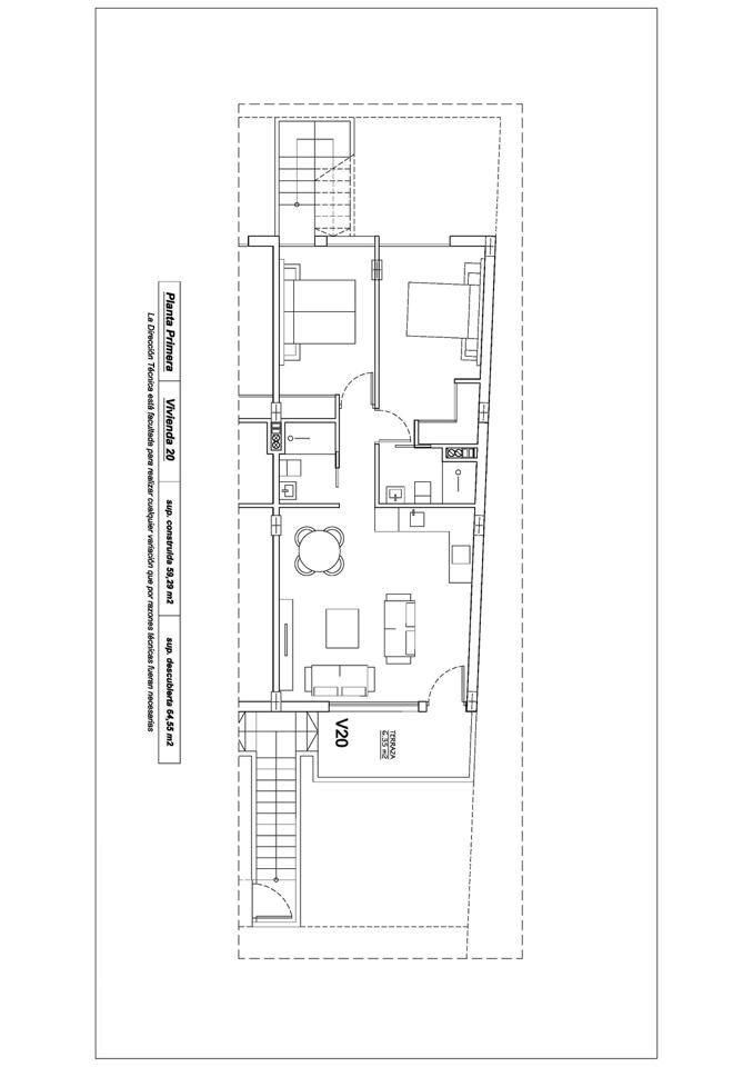 Complejo de 20 bungalows con piscina comunitaria y cocina de verano en lo pagán - imagenInmueble8
