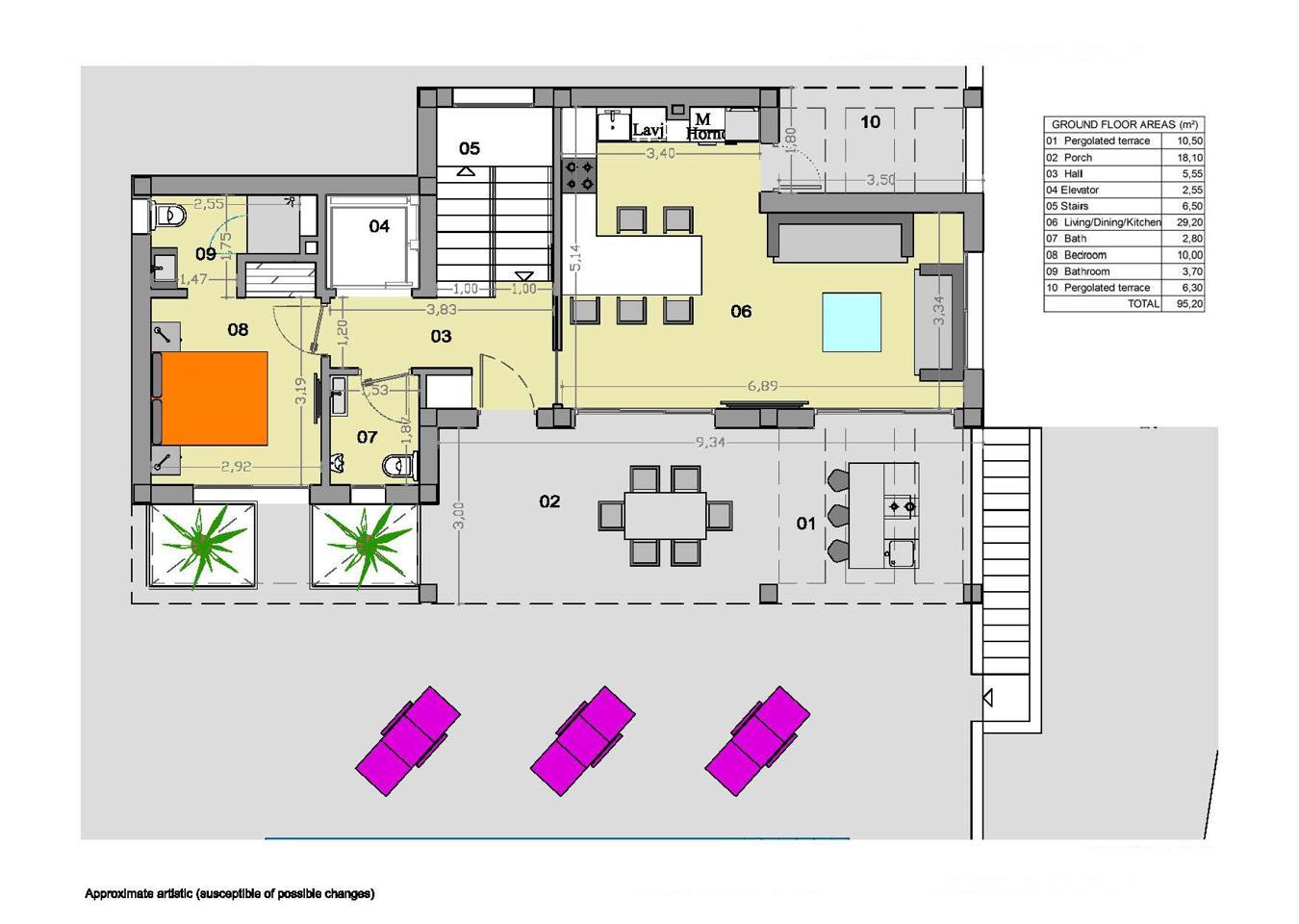 2 villas independientes nuevas de alta calidad en ciudad quesada - imagenInmueble35