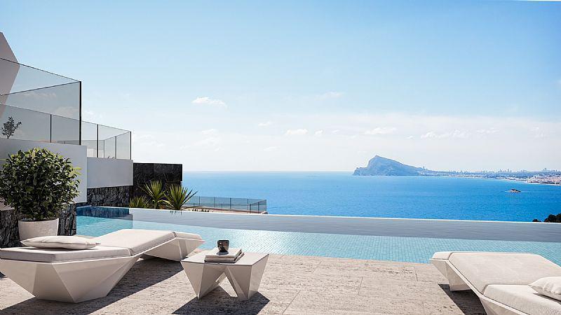 Nuevo proyecto de 4 villas de lujo de estilo moderno con vistas al mar y piscina privada. - imagenInmueble0