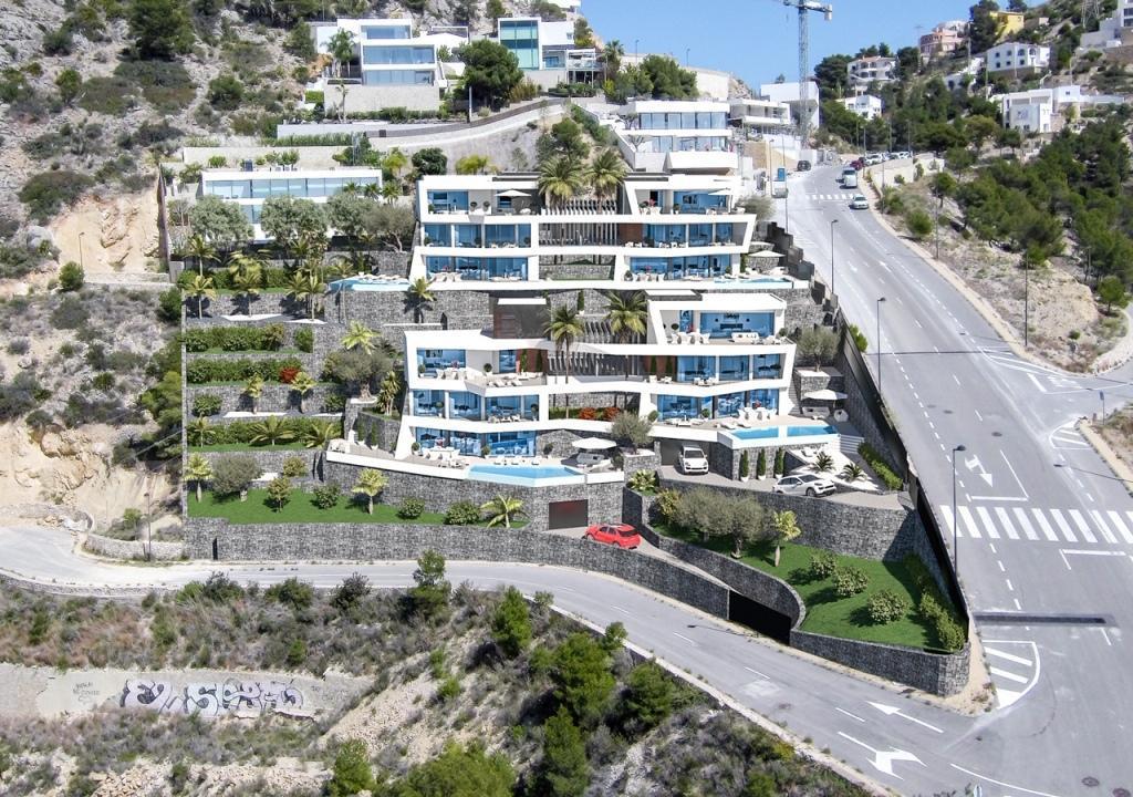 Nuevo proyecto de 4 villas de lujo de estilo moderno con vistas al mar y piscina privada. - imagenInmueble9