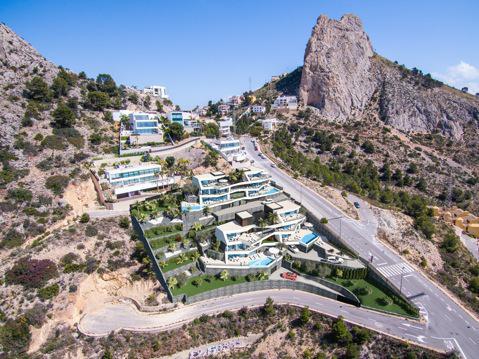 Nuevo proyecto de 4 villas de lujo de estilo moderno con vistas al mar y piscina privada. - imagenInmueble10