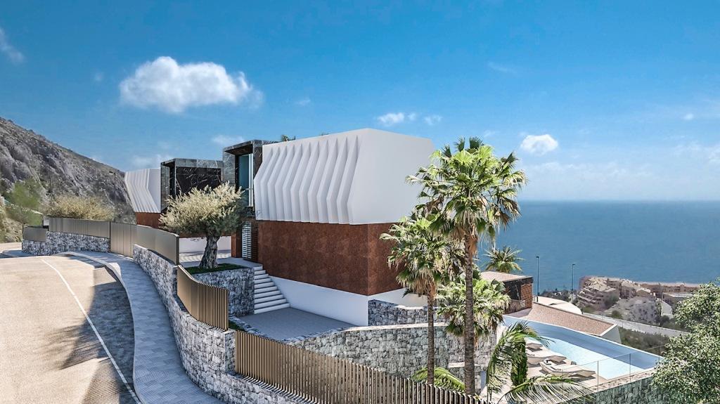 Nuevo proyecto de 4 villas de lujo de estilo moderno con vistas al mar y piscina privada. - imagenInmueble12