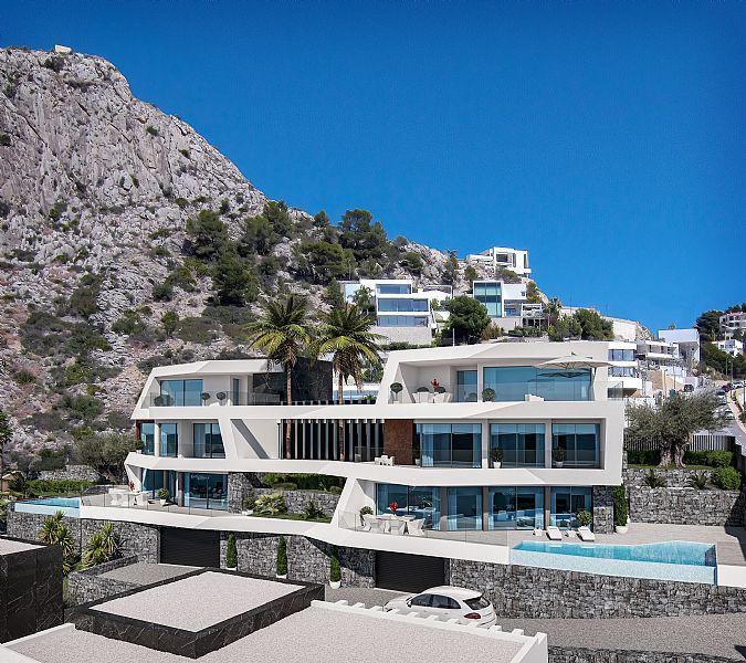 Nuevo proyecto de 4 villas de lujo de estilo moderno con vistas al mar y piscina privada. - imagenInmueble14
