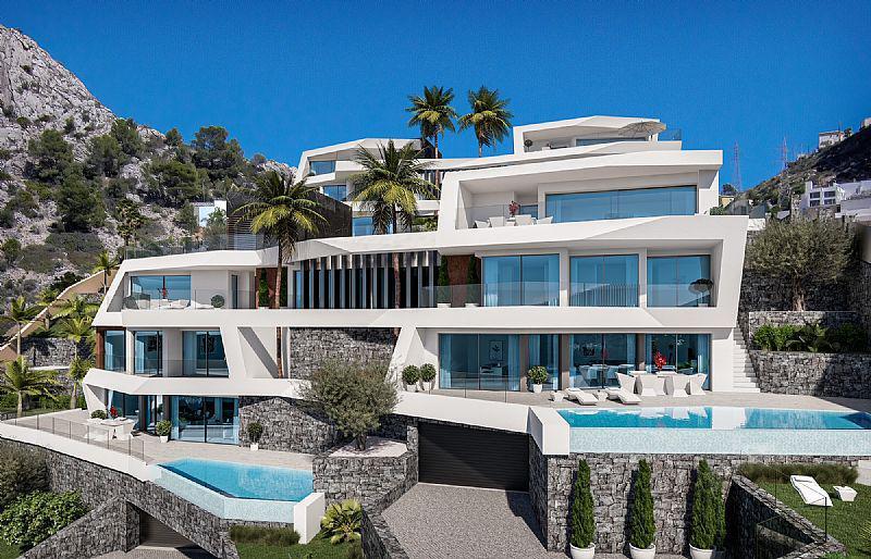 Nuevo proyecto de 4 villas de lujo de estilo moderno con vistas al mar y piscina privada. - imagenInmueble15