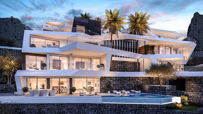 Nuevo proyecto de 4 villas de lujo de estilo moderno con vistas al mar y piscina privada. - imagenInmueble16