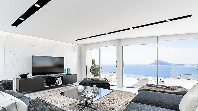 Nuevo proyecto de 4 villas de lujo de estilo moderno con vistas al mar y piscina privada. - imagenInmueble1