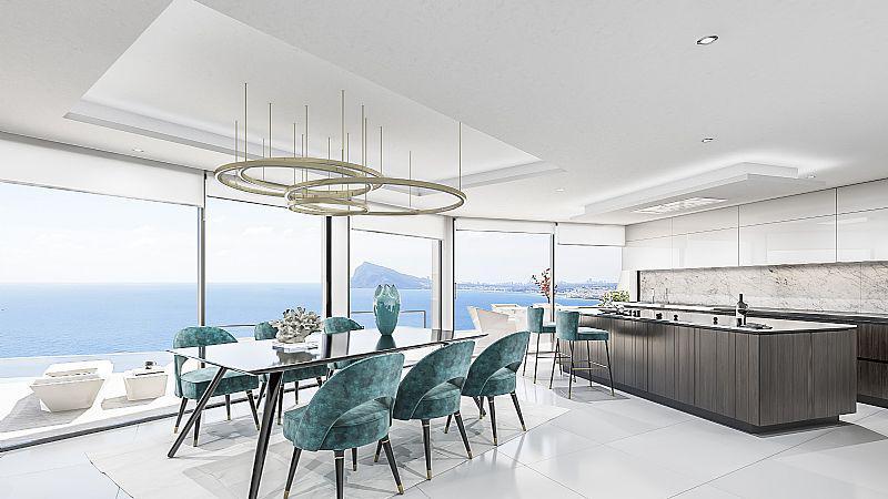 Nuevo proyecto de 4 villas de lujo de estilo moderno con vistas al mar y piscina privada. - imagenInmueble2