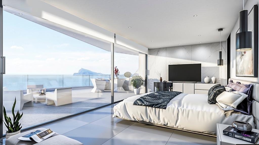 Nuevo proyecto de 4 villas de lujo de estilo moderno con vistas al mar y piscina privada. - imagenInmueble3