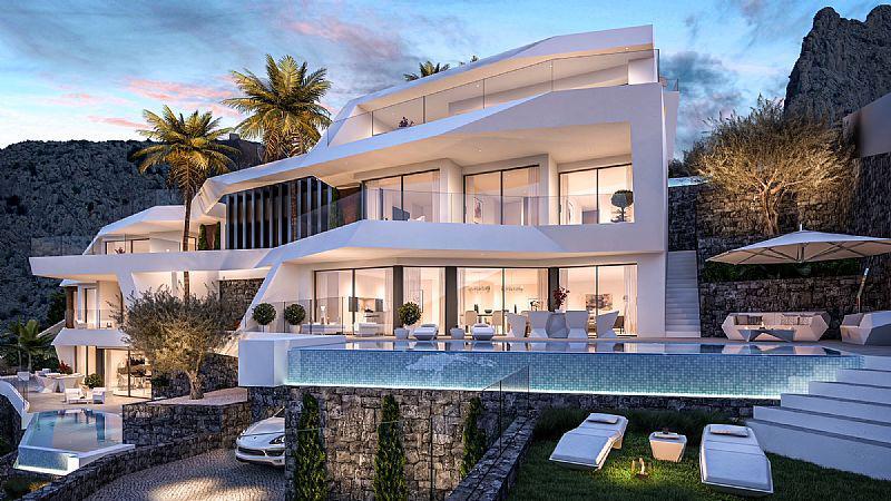 Nuevo proyecto de 4 villas de lujo de estilo moderno con vistas al mar y piscina privada. - imagenInmueble4