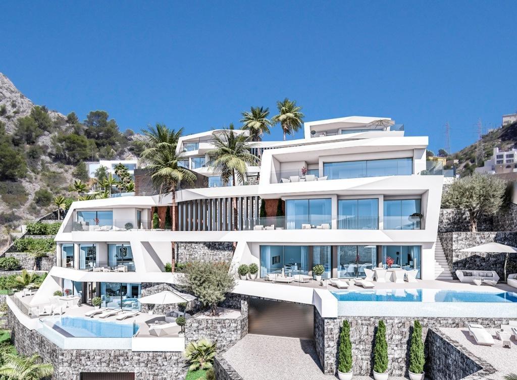 Nuevo proyecto de 4 villas de lujo de estilo moderno con vistas al mar y piscina privada. - imagenInmueble5