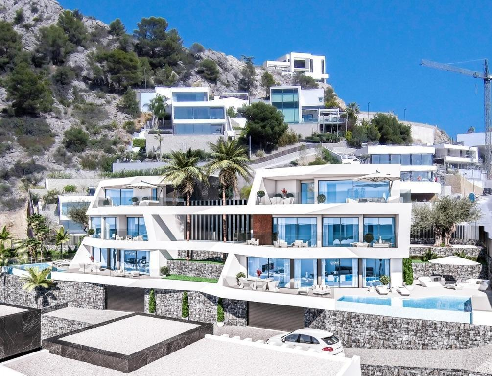 Nuevo proyecto de 4 villas de lujo de estilo moderno con vistas al mar y piscina privada. - imagenInmueble6