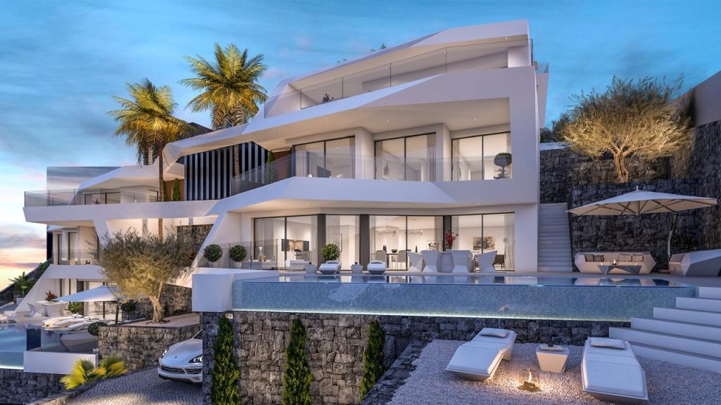 Nuevo proyecto de 4 villas de lujo de estilo moderno con vistas al mar y piscina privada. - imagenInmueble8