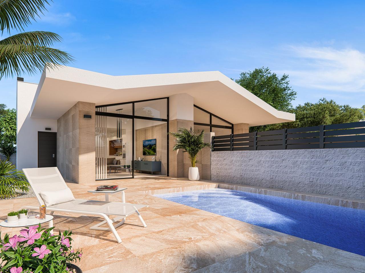 Villas pareadas de obra nueva con piscina opcional - imagenInmueble0