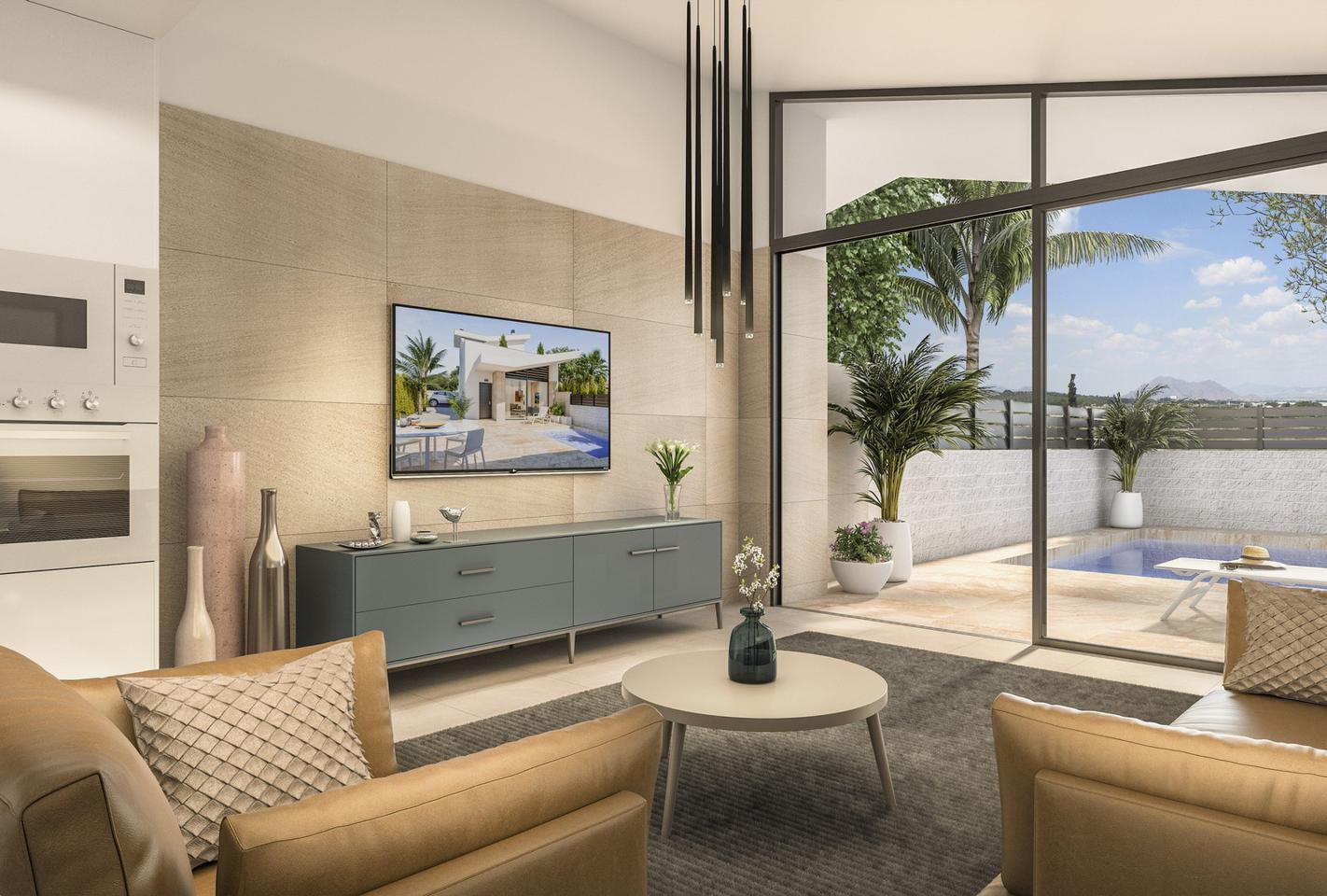 Villas pareadas de obra nueva con piscina opcional - imagenInmueble2