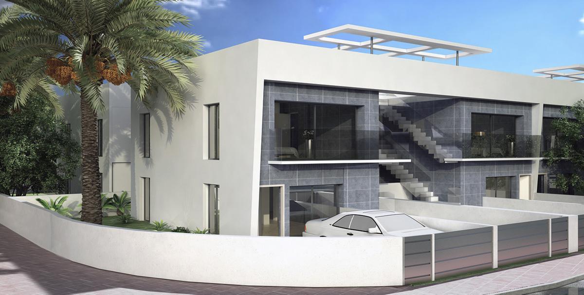 Nuevo concepto de vivienda en una sola planta con diferentes opciones de distribución - imagenInmueble17