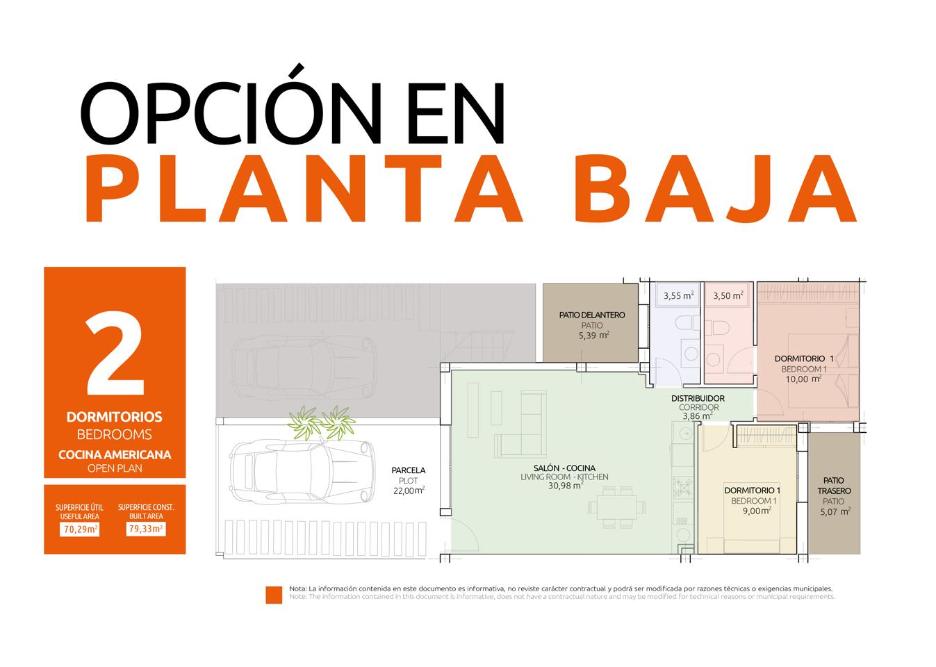 Nuevo concepto de vivienda en una sola planta con diferentes opciones de distribución - imagenInmueble20
