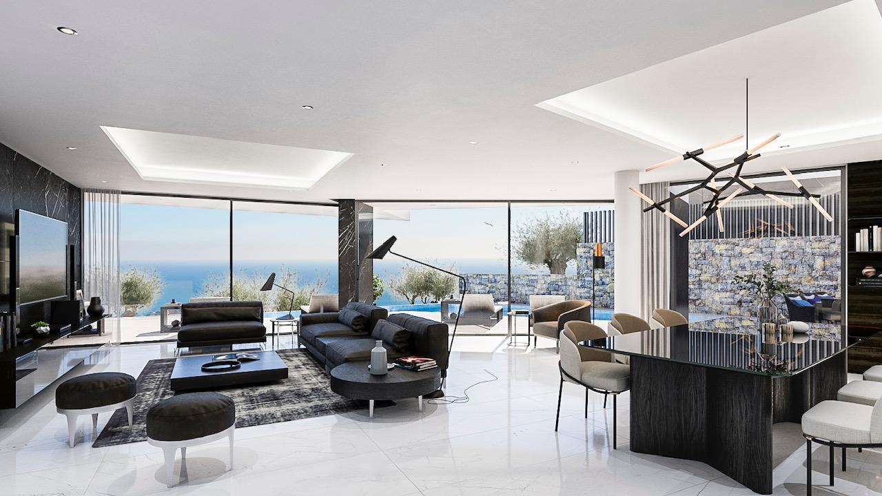 Nueva promocion en calpe de 6 villas de lujo modernas e independientes con vistas al mar - imagenInmueble3