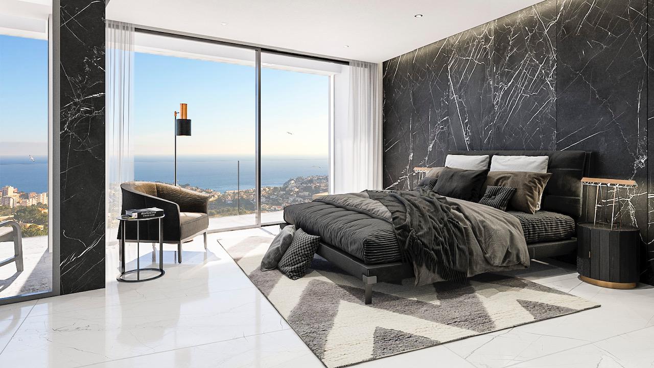 Nueva promocion en calpe de 6 villas de lujo modernas e independientes con vistas al mar - imagenInmueble4