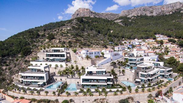 Nueva promocion en calpe de 6 villas de lujo modernas e independientes con vistas al mar - imagenInmueble5