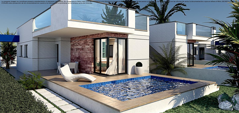 Villas de obra nueva en el verger a 1 km de la playa con gran solarium privado. - imagenInmueble0