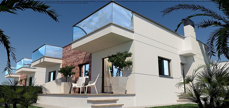 Villas de obra nueva en el verger a 1 km de la playa con gran solarium privado. - imagenInmueble1